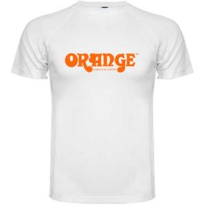 ORANGE ORANGE T-SHIRT WHITE L