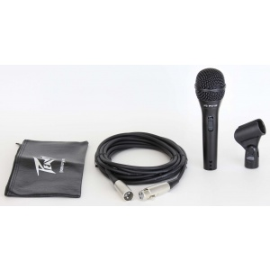PEAVEY PV®I 2 BLACK MICROPHONE - XLR CABLE