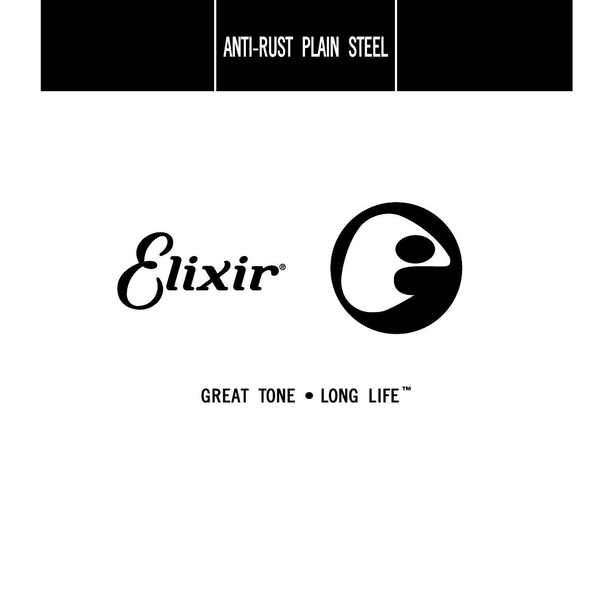 ELIXIR ITALIA 13016 ANTI-RUST PLAIN STEEL SINGLE STRING