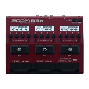 Zoom B3n - per basso - pedaliera multieffetto e amp-simulator